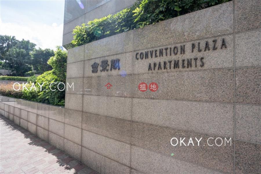 HK$ 46,000/ 月會展中心會景閣灣仔區-2房1廁,極高層,星級會所《會展中心會景閣出租單位》