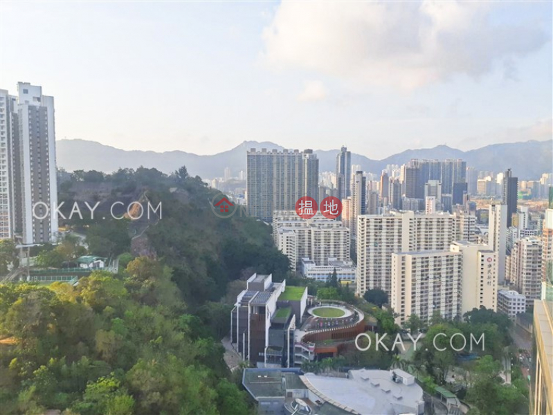 HK$ 65,000/ month Homantin Hillside Tower 2 Kowloon City   Beautiful 3 bed on high floor with balcony & parking   Rental