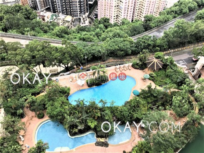 HK$ 41,000/ month | Pacific Palisades, Eastern District Unique 3 bedroom on high floor with balcony | Rental