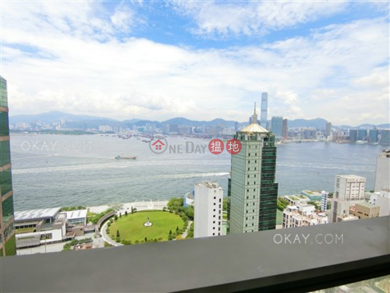 HK$ 40,000/ month | SOHO 189 Western District, Rare 2 bed on high floor with harbour views & balcony | Rental
