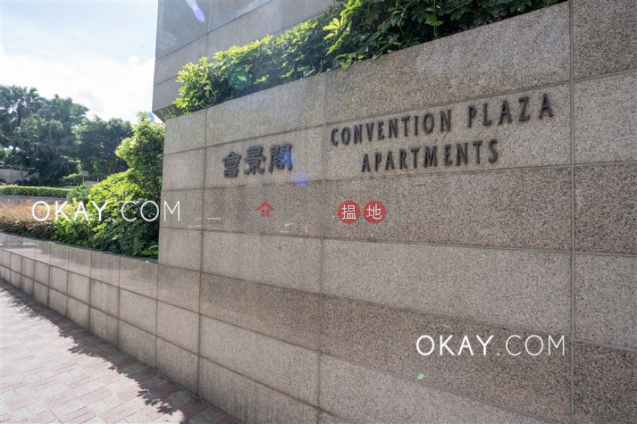 HK$ 38,000/ month | Convention Plaza Apartments | Wan Chai District, Gorgeous 1 bedroom on high floor with sea views | Rental