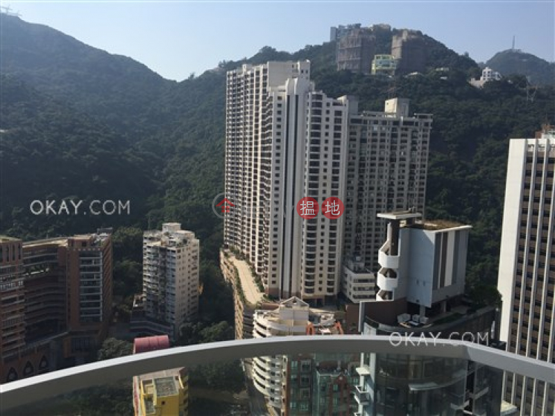 HK$ 30,000/ month, One Wan Chai, Wan Chai District Charming 1 bedroom on high floor with balcony   Rental