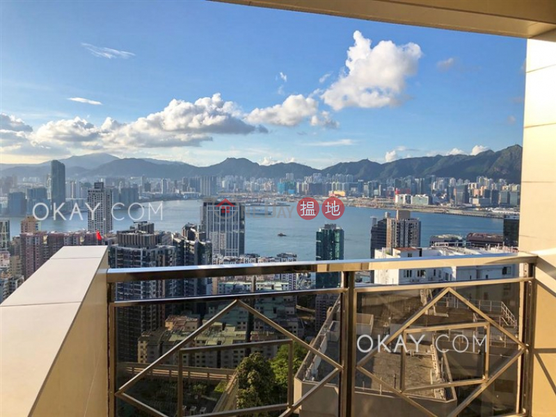 Unique 4 bedroom on high floor with sea views & balcony | Rental 200 Tin Hau Temple Road | Eastern District, Hong Kong, Rental | HK$ 70,000/ month