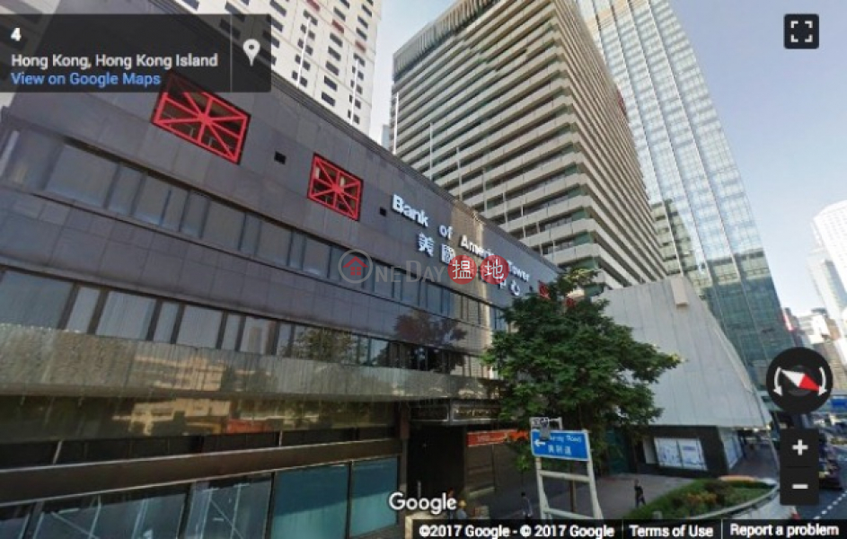 Combined units on high floor of Bank of America Tower for letting, bare shell | 12 Harcourt Road | Central District | Hong Kong, Rental HK$ 1.08M/ month