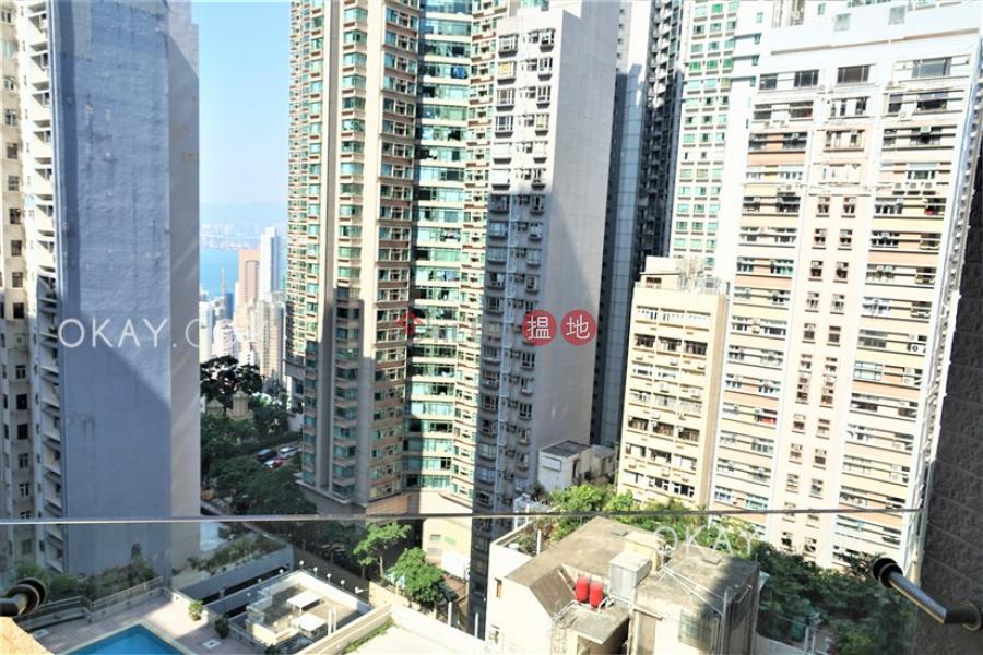 香港搵樓|租樓|二手盤|買樓| 搵地 | 住宅|出租樓盤1房1廁,極高層,星級會所,露台《干德道38號The ICON出租單位》