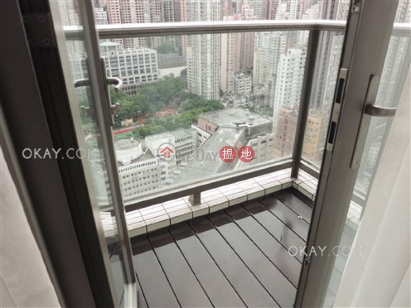 HK$ 35,000/ month | SOHO 189 | Western District Tasteful 2 bedroom on high floor with balcony | Rental