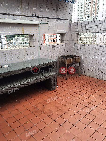HK$ 13,800/ 月|兆群大廈南區-景觀開揚,實用兩房,特色單位《兆群大廈租盤》