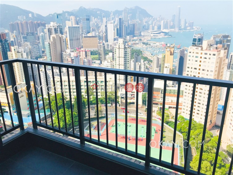 Property Search Hong Kong   OneDay   Residential   Rental Listings   Rare 2 bedroom with harbour views, balcony   Rental