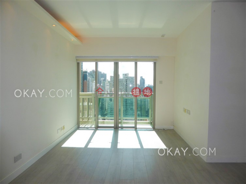 Tasteful 3 bedroom with harbour views & balcony   Rental   Centre Place 匯賢居 Rental Listings