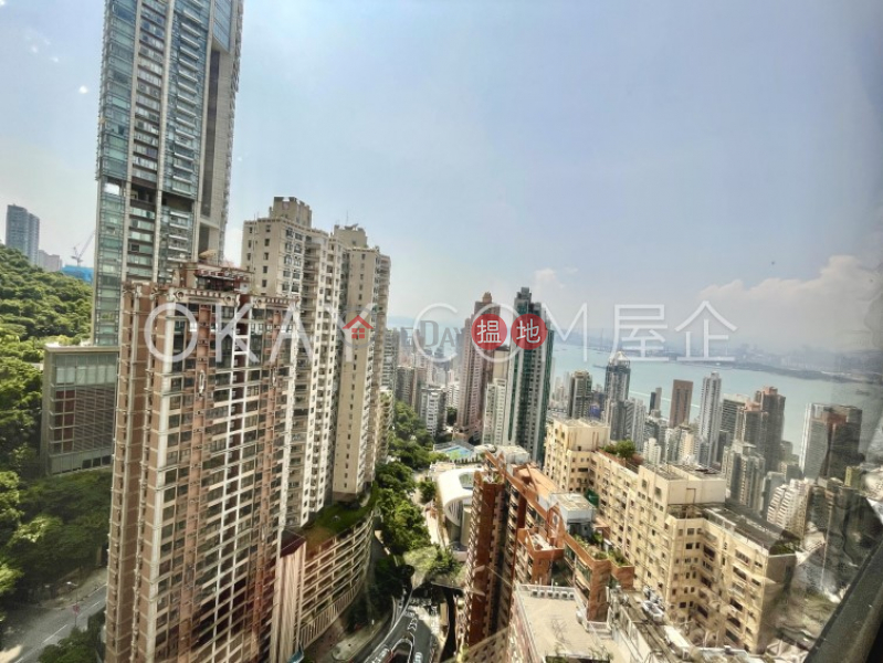 Property Search Hong Kong | OneDay | Residential | Sales Listings | Rare 3 bed on high floor with harbour views & parking | For Sale
