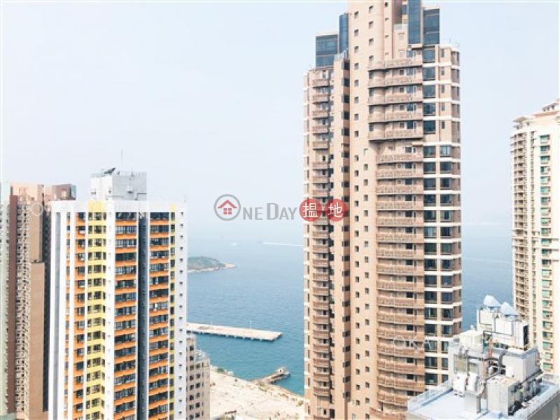 Rare 1 bedroom on high floor with balcony | Rental, 11 Davis Street | Western District Hong Kong, Rental | HK$ 25,000/ month