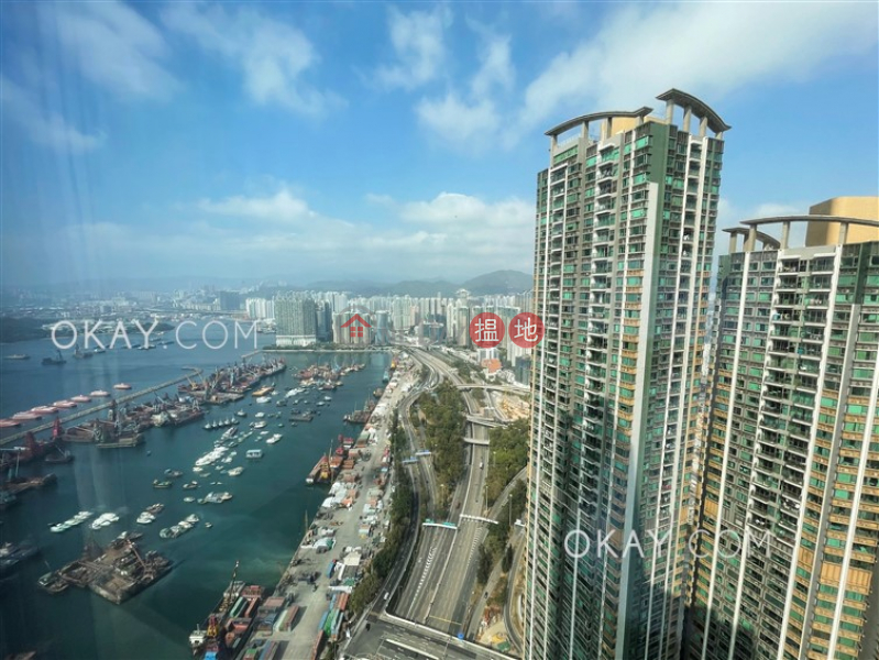 HK$ 62,000/ month, The Cullinan Tower 21 Zone 3 (Royal Sky) | Yau Tsim Mong | Unique 3 bedroom on high floor with harbour views | Rental