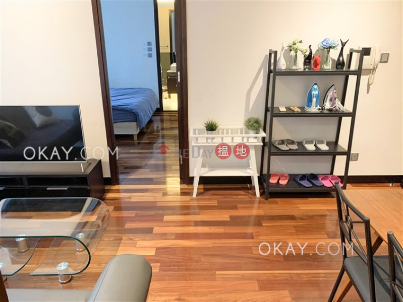 HK$ 35,000/ month | J Residence, Wan Chai District | Tasteful 2 bedroom with balcony | Rental