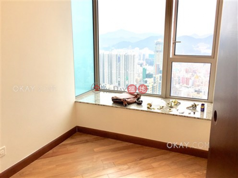 HK$ 45M, The Hermitage Tower 7 Yau Tsim Mong, Gorgeous 3 bedroom on high floor with rooftop & balcony | For Sale
