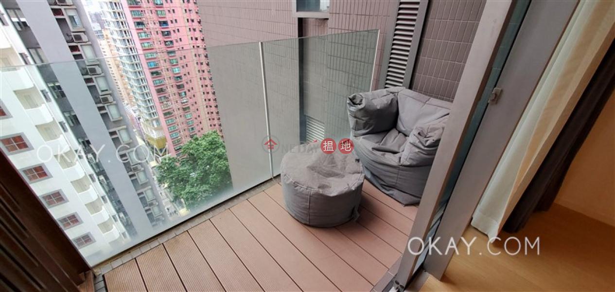 1房1廁,星級會所,可養寵物,露台《Soho 38出租單位》|38些利街 | 西區-香港出租-HK$ 28,000/ 月