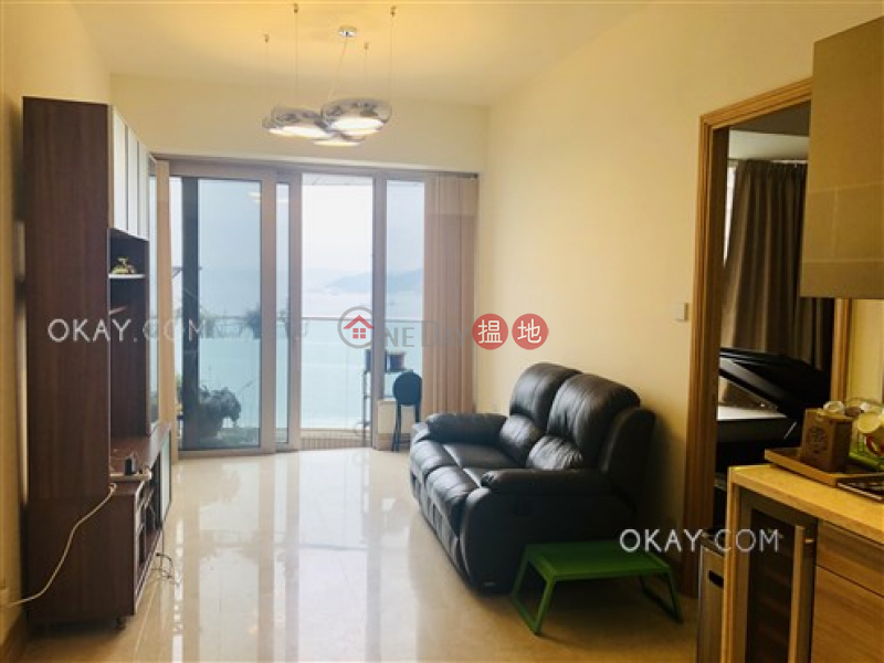 HK$ 11.68M Cadogan, Western District   Luxurious 1 bed on high floor with sea views & balcony   For Sale