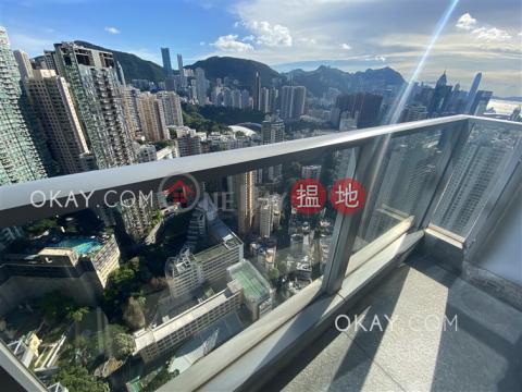 Exquisite 4 bed on high floor with balcony & parking | Rental|Serenade(Serenade)Rental Listings (OKAY-R80688)_0