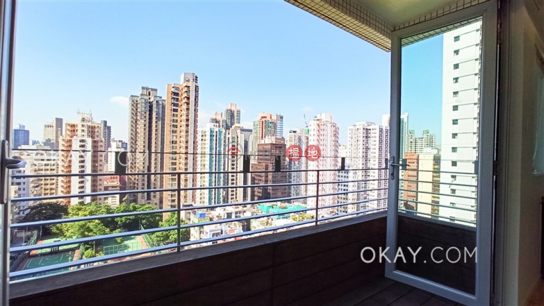 Rare 1 bedroom with balcony   Rental, Cherry Crest 翠麗軒 Rental Listings   Central District (OKAY-R74038)
