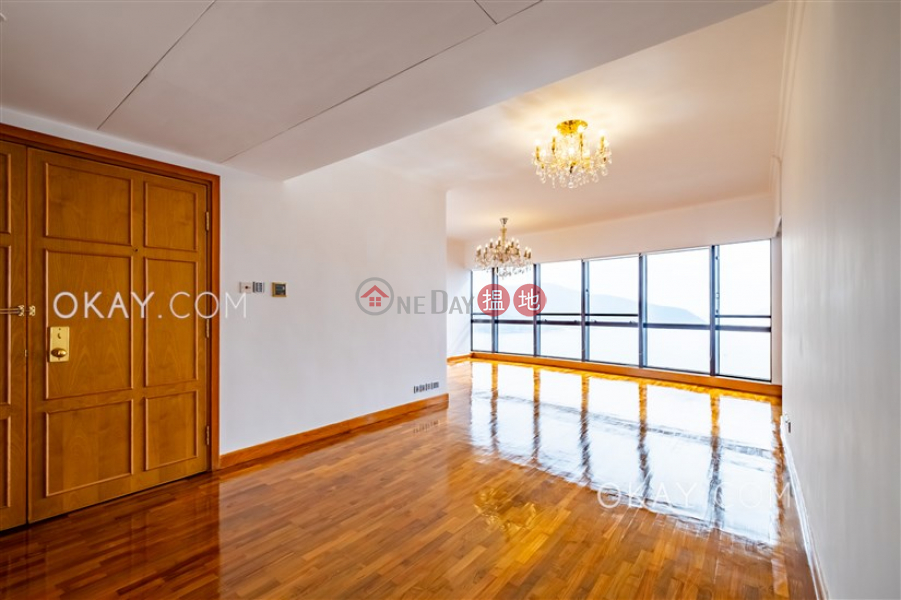 Unique 4 bedroom on high floor with sea views & balcony | Rental | Pacific View 浪琴園 Rental Listings