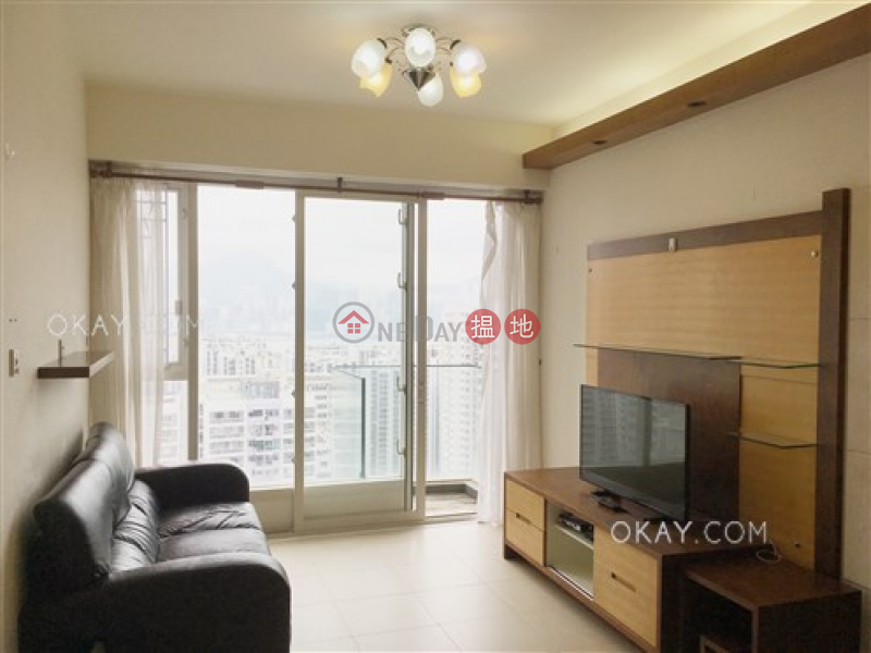 Charming 3 bed on high floor with sea views & balcony | For Sale | The Orchards Block 2 逸樺園2座 Sales Listings