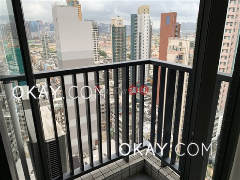 Charming 3 bedroom on high floor with balcony | Rental | Luxe Metro 匯豪 Rental Listings
