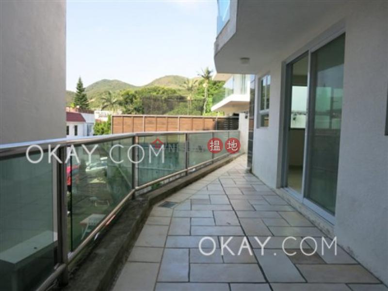 Stylish house with sea views, rooftop & balcony | For Sale | Tai Hang Hau Village 大坑口村 Sales Listings