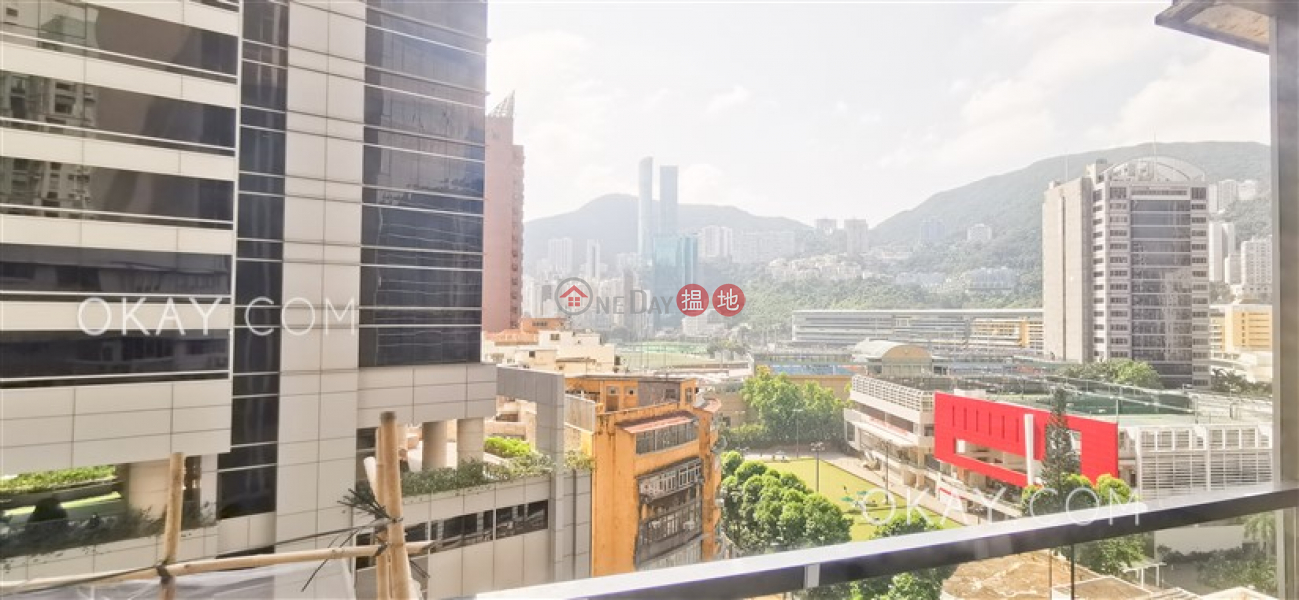 HK$ 29,800/ month Sung Lan Mansion Wan Chai District Charming 1 bedroom on high floor with balcony | Rental