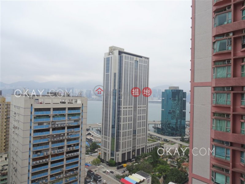 Unique 3 bedroom on high floor with sea views | For Sale | Island Place 港運城 Sales Listings
