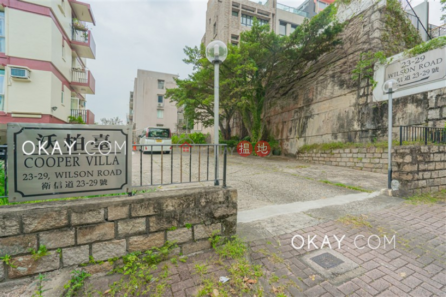 HK$ 40M, Cooper Villa Wan Chai District | Gorgeous 3 bedroom with balcony & parking | For Sale