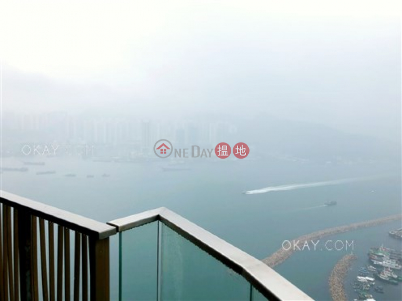Unique 3 bedroom on high floor with sea views & balcony | For Sale | Tower 6 Grand Promenade 嘉亨灣 6座 Sales Listings