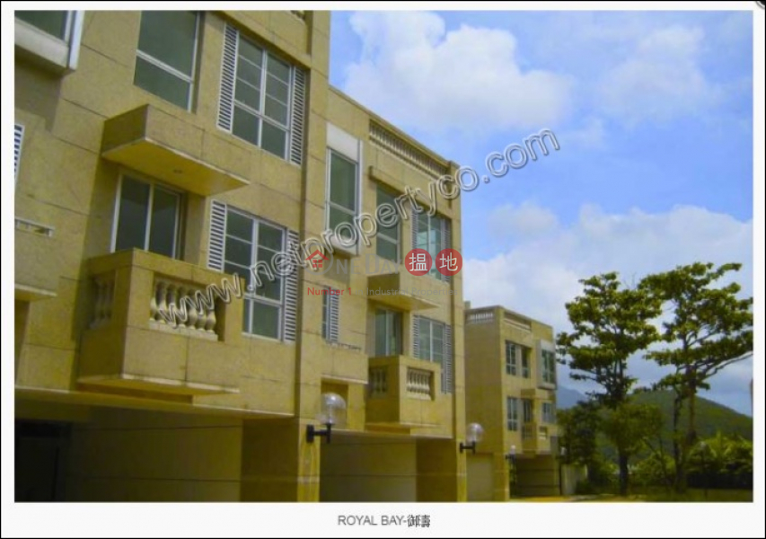 A modern 3 story townhouse for Rent, House K Royal Bay 御濤 洋房K Rental Listings | Sai Kung (A054660)