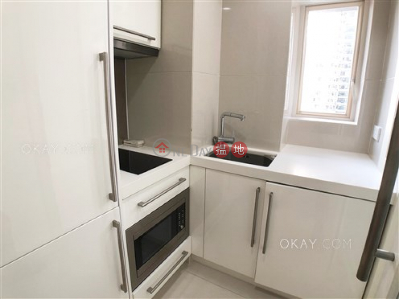 Practical 1 bedroom on high floor with balcony | Rental | The Icon 干德道38號The ICON Rental Listings