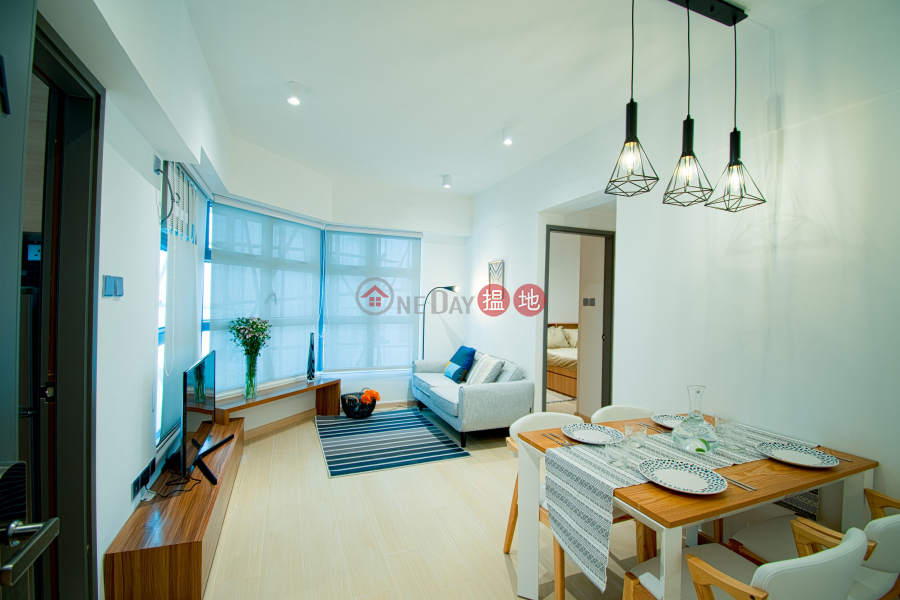 2 beds furnished apartment (near HKU MTR) | Hai Kwang Mansion 海光大廈 Rental Listings