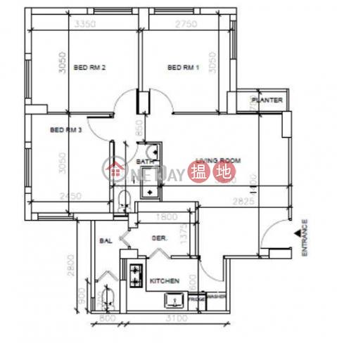 銅鑼灣三房兩廳筍盤出租|住宅單位|海德大廈(Hyde Park Mansion)出租樓盤 (EVHK63920)_0