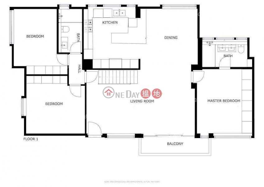 6 - 12 Crown Terrace | 3 bedroom High Floor Flat for Sale, 6-12 Crown Terrace | Western District | Hong Kong | Sales HK$ 34M