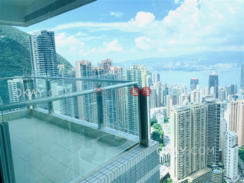 Gorgeous 3 bedroom on high floor with balcony | Rental 3A Tregunter Path | Central District, Hong Kong Rental, HK$ 106,000/ month
