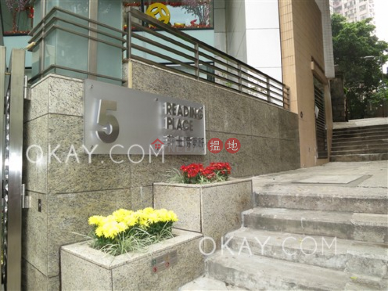 HK$ 38,000/ month | Reading Place, Western District, Gorgeous 3 bed on high floor with sea views & balcony | Rental
