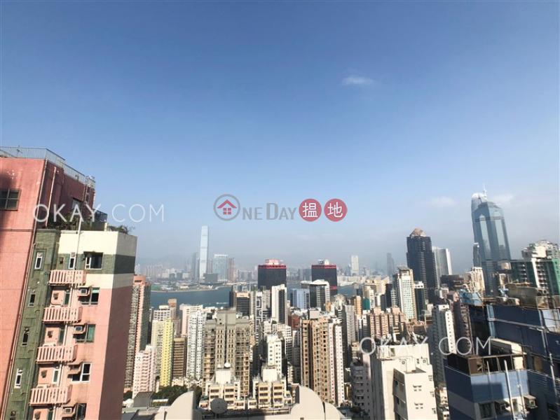 Popular 1 bed on high floor with harbour views | Rental | 20-22 Bonham Road | Western District, Hong Kong Rental HK$ 40,000/ month