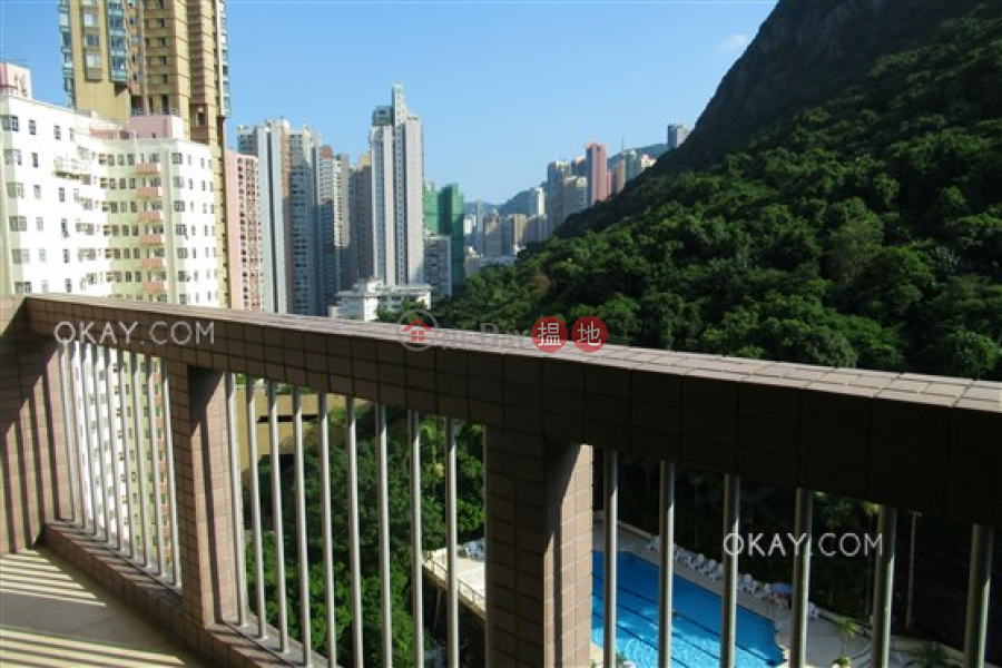 Lovely 3 bedroom on high floor with balcony | Rental | 41 Conduit Road | Western District | Hong Kong, Rental | HK$ 49,000/ month