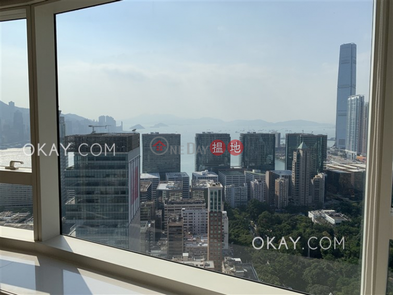 HK$ 60,000/ month | The Masterpiece Yau Tsim Mong | Luxurious 2 bedroom on high floor with sea views | Rental