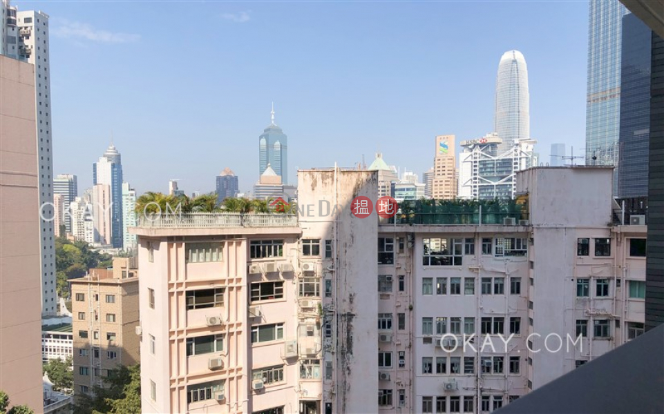 HK$ 42,000/ month | St. Joan Court Central District | Unique 1 bedroom with balcony | Rental