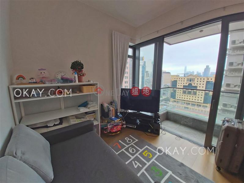 Elegant 2 bedroom with harbour views & balcony   Rental 9 Warren Street   Wan Chai District Hong Kong Rental   HK$ 34,000/ month