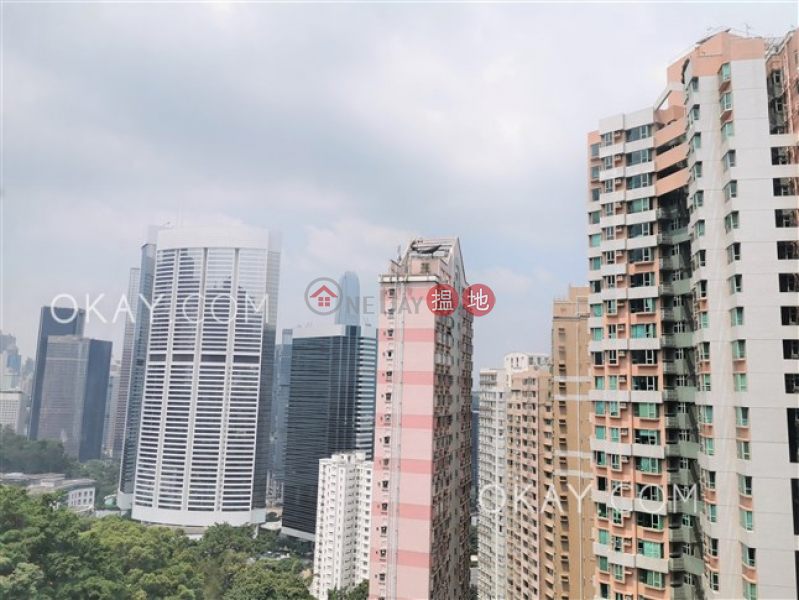 Property Search Hong Kong | OneDay | Residential, Rental Listings Efficient 3 bed on high floor with balcony & parking | Rental