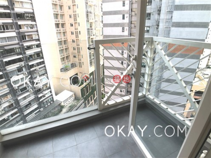 Generous 1 bedroom on high floor with balcony | Rental | The Icon 干德道38號The ICON Rental Listings