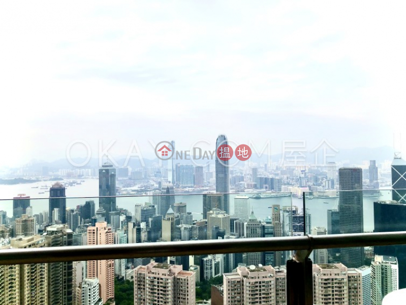 HK$ 109,000/ month | Branksome Crest | Central District, Luxurious 3 bed on high floor with balcony & parking | Rental
