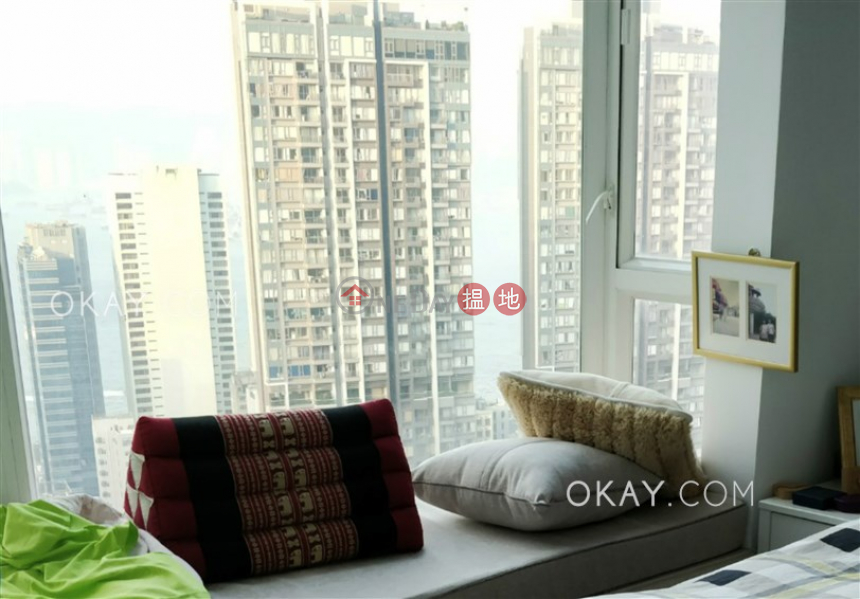 Gorgeous 3 bed on high floor with sea views & balcony | Rental | Reading Place 莊士明德軒 Rental Listings