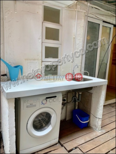 HK$ 16,500/ month   Wing Kit Building, Wan Chai District Apartment with Terrace for Rent in Wan Chai