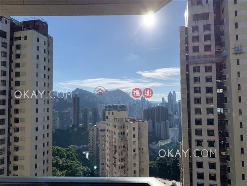 HK$ 55,000/ month | Flora Garden Block 2 | Wan Chai District, Luxurious 3 bedroom with balcony & parking | Rental