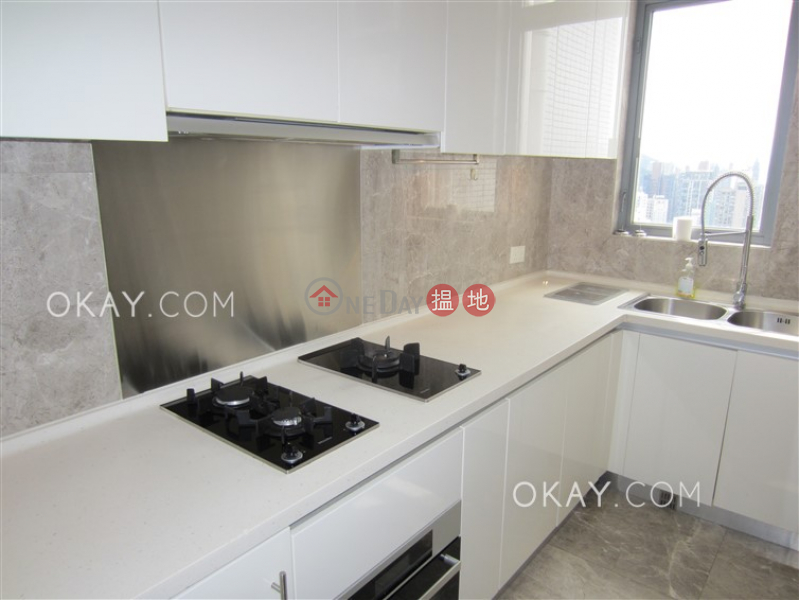 Exquisite 3 bed on high floor with sea views & rooftop | For Sale 1 Wo Fung Street | Western District | Hong Kong, Sales, HK$ 50M