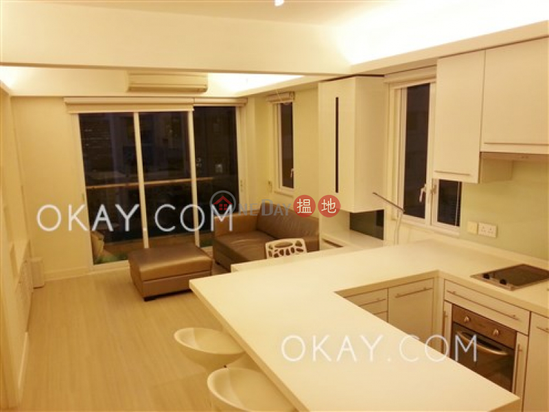 Practical 1 bed on high floor with harbour views | For Sale | On Fung Building 安峰大廈 Sales Listings